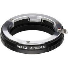 Vello Leica M Mount Lens to Sony NEX Camera Adapter