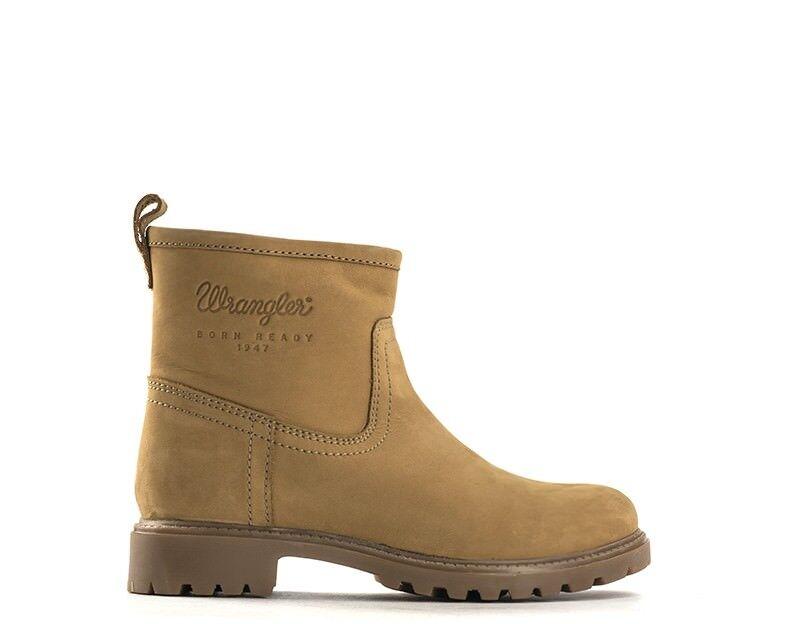 Schuhe WRANGLER Damenschuhe TAN Pelle naturale,Scamosciato 162503-024S