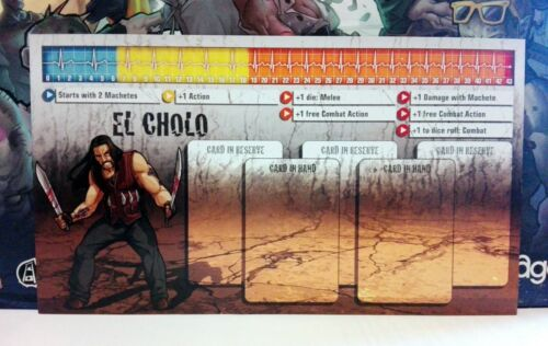 Choose your own all characters! Zombicide Kickstarter Exclusive DASHBOARDS