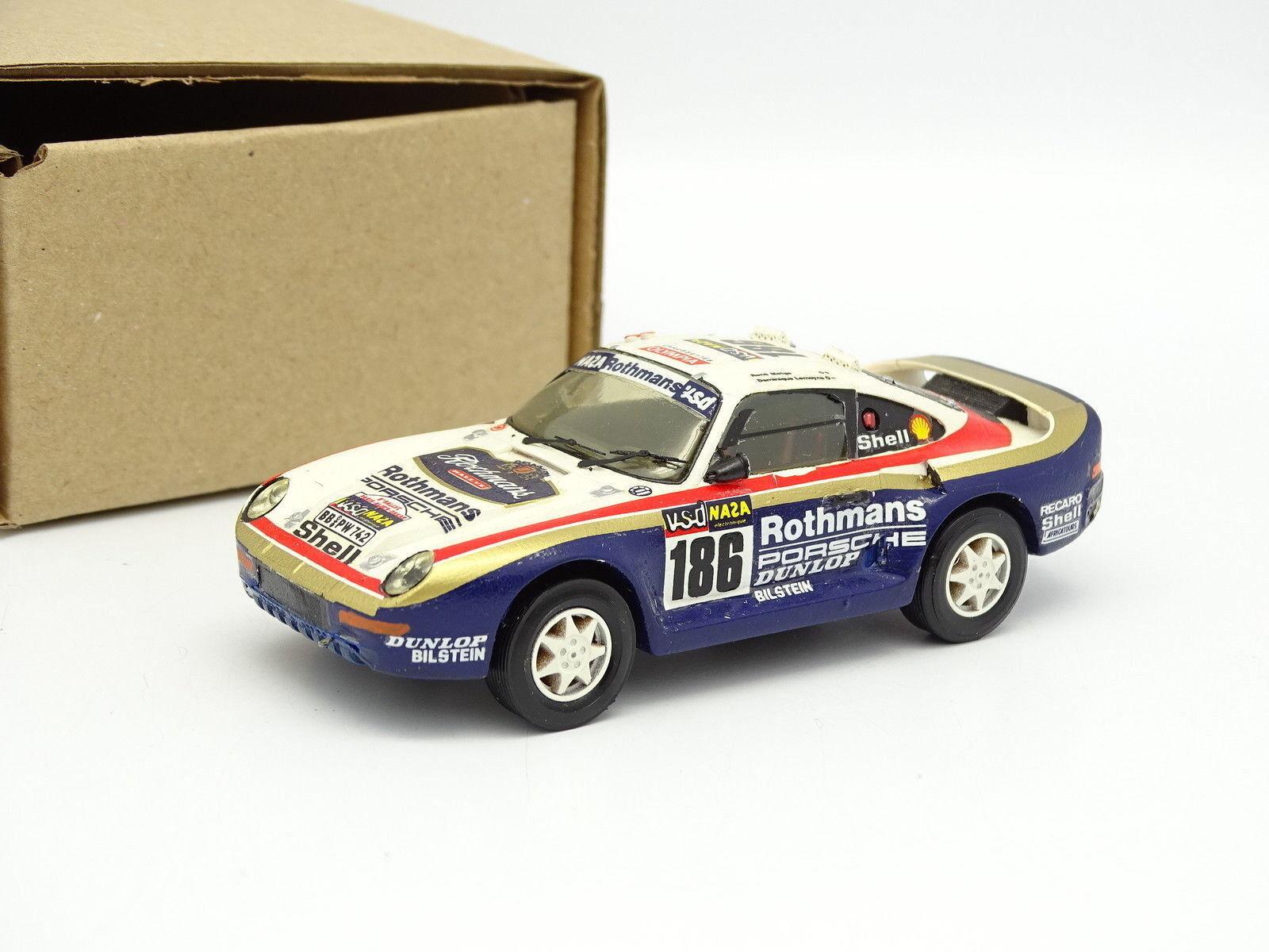 Starter Kit Monté 1 1 1 43 - Porsche 959 redhmans Rallye Paris Dakar 1988 N°186 7e2b8b