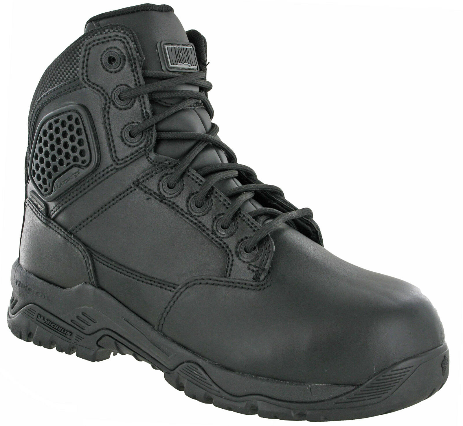 Magnum Safety Police Army Strike Force Leather 6.0 Stiefel Lightweight UK 7-14