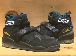 d50a212c37b032 Image is loading Vintage-1993-Converse-Backjam-Larry-Johnson -GrandMama-Hornets-