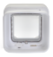 SureFlap-Dual-Scan-Microchip-Cat-Flap-White-Selective-Entry-amp-Exit-Genuine thumbnail 4