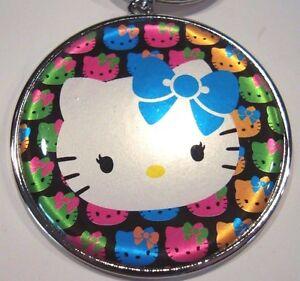 Hello Kitty Key Chain Metal Key Chain Backpack Clip Zipper Pull Sanrio NEW