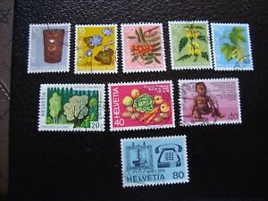 Switzerland-Stamp-Yvert-and-Tellier-N-994-A-1002-Obl-A2-Q