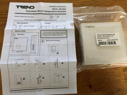 TREND TB//TS Thermistor Room Temperature Sensors TG200604 Wall Mounted