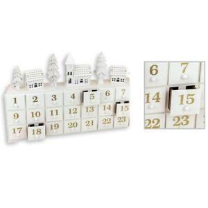 Beau-en-Bois-LED-Hiver-Scene-Shabby-Chic-Advent-Calendrier-Mas-Decoration