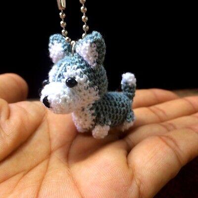 Crochet pdf pattern nanook husky | Crochet wolf, Crochet dolls ... | 400x400