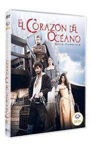 PELICULA  DIVISA HV  DVD  EL CORAZÓN DEL OCÉANO (SERIE COMPLETA) 25 ANIVERSAR...