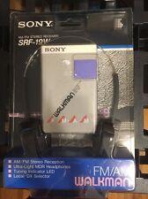 SONY WALKMAN SRF-19W AM/FM STEREO RECEIVER WITH HEADPHONES-NEW