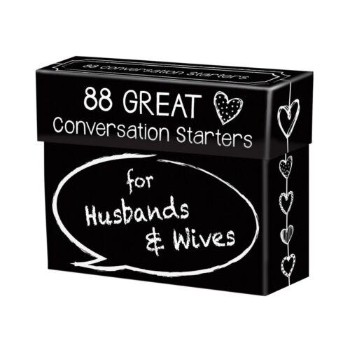 Conversation Starters for Husbands /& Wives