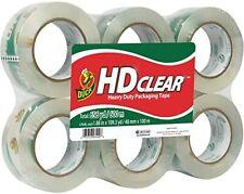 Hd Clear Heavy Duty Packing Tape 188 Inch X 109 Yards 6 Rolls 299016