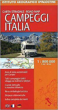 Campeggi Italia 1:800.000