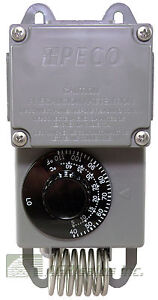 Details about PECO TF115-001 40 to 110° F Thermostat #4E636