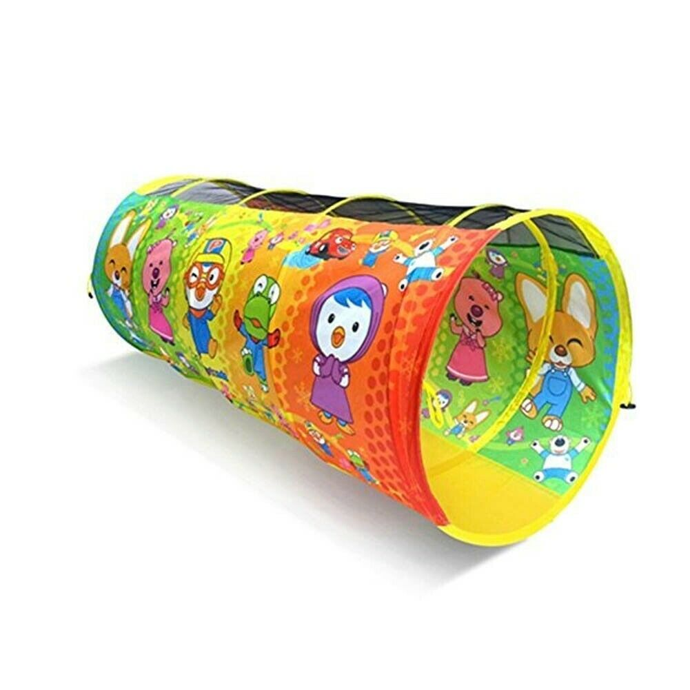PGoldro Kids Play Tunnel with Carry Case - Indoor Outdoor Pop Up Tunnel 24 x 55