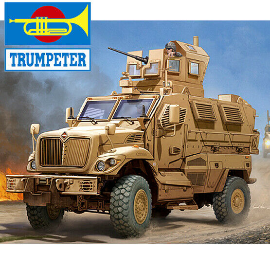 Trumpeter 1 16 US MaxxPro MRAP Model Kit