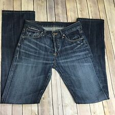 Citizens Of Humanity Riley Boyfriend Mid Rise Button Fly Size 24 Dark Wash i5