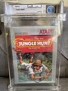 1983 Atari 2600 Jungle Hunt Graded WATA 8.5 Sealed B 🔥 SWING INTO ACTION!!