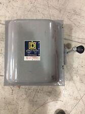Square D 82353 Double Throw Safety Switch 100 Amp 240 Volt Nema 1
