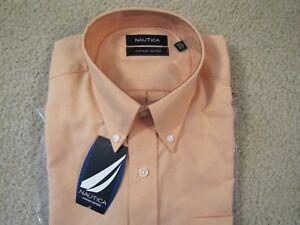 9887bbcece19 $55 NAUTICA VINTAGE OXFORD COTTON DRESS SHIRT W/POCKET - 16 X 34/35 ...