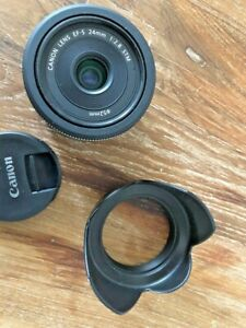 Canon EF-S 24mm f/2.8 STM Objectif - Noir