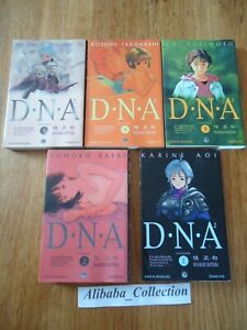 Lote-Manga-VF-DNA-DNA2-1-2-3-4-5-Eo-Series-Complete-Completo