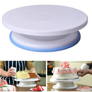 Sensational 28Cm Birthday Cake Making Turntable Rotating Decorating Platform Birthday Cards Printable Benkemecafe Filternl