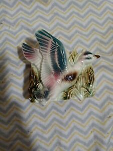 Vintage Shawnee Pottery Flying Duck Planter