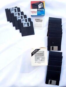 FLOPPY-DISKS-Office-Depot-Premium-DISKETTES-FORMATTED-IBM-1-44MB-3-5-034-1-44-MB