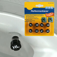 Reifenmarkierer 8er Set Radmerker Reifenmarkierung Reifen