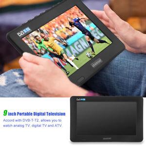 DVB-T-T2-Portable-TV-Numerique-Analogique-1080P-Lecteur-TFT-16-9-pour-LEADSTAR