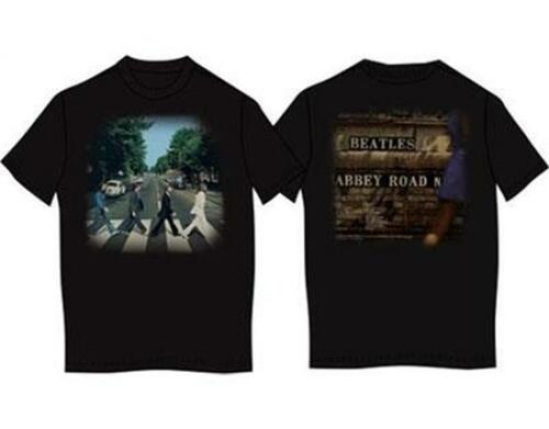 ABBEY ROAD T SHIRT FAB FOUR LENNON MCCARTNEY OFFICIAL LICENSED THE BEATLES