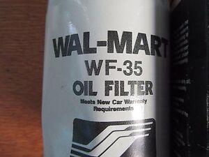 Details about WALMART WF-35 OIL FILTER PF35 PH13 FL12 PER40