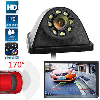 Universal Rear View Backup Camera Reverse 8 LED Night Vision Auto Car Supply