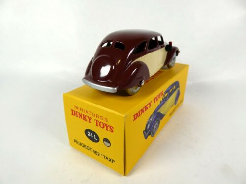 Peugeot 402 Taxi DINKY TOYS DeAgostini MODELLAUTO CAR DIECAST 24L