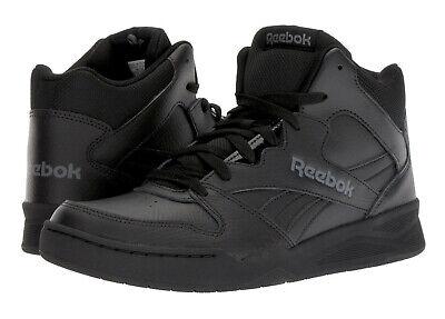 Reebok Royal BB4500 Hi Black Alloy Mens Basketball Tennis Shoes CN4108