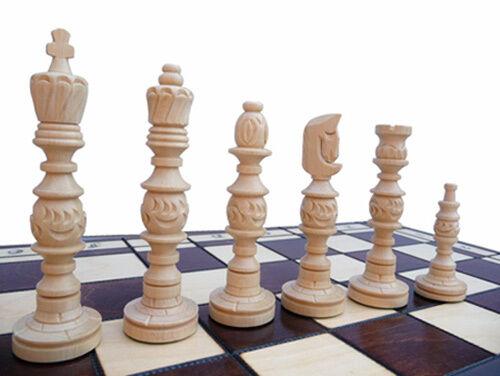 Aux échecs grand noble jeu d'échecs GALANT damier 58 x x x 58 cm KH 140 MM BOIS 33db6d