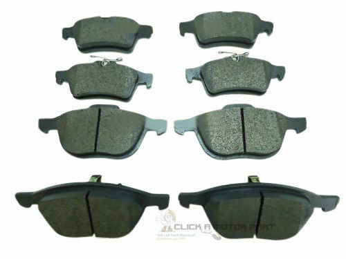 FORD FOCUS MK3 2011-2016 1.0 1.5 1.6 2.0 TDCi FRONT AND REAR BRAKE PADS SET