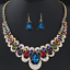 Women-Chunky-Fashion-Crystal-Bib-Collar-Choker-Chain-Pendant-Statement-Necklace thumbnail 87