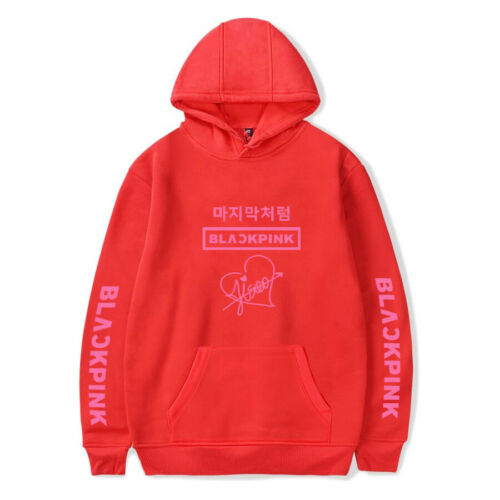 BlackPink Hoodie 2019 Kpop New Lisa Jisoo Pullover Cap Sweaster Rose Jennie 1491