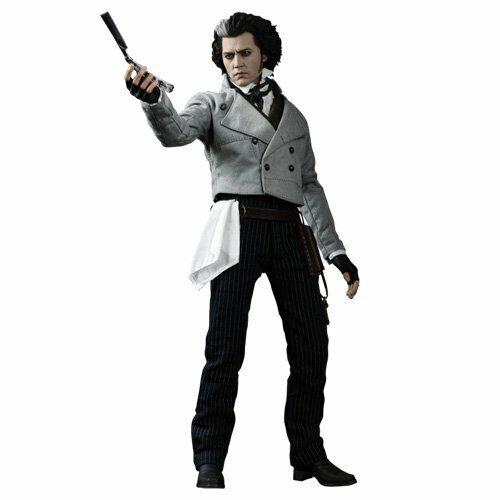 Hot Toys 1 6 Sweeney Todd The Demon Barber of Fleet Street Johnny Depp MMS149.