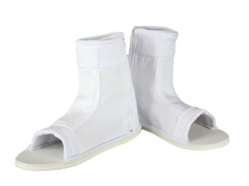 Naruto Shippuden Cosplay Costume Accessory Male White Ninja Shoes Sandals