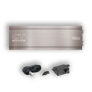 CT Sounds Car Audio Competition Amp Team-7000.1D 7375W TRUE RMS Power Amplifier