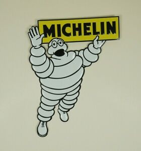 Michelin-Man-Vintage-Die-Cut-Metal-Sheet-Advertising-Sign-Wall-Plaque-11-034-x-14-034