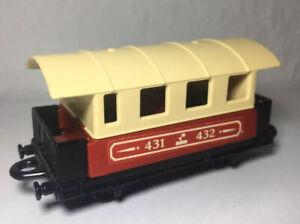 Matchbox-Railway-Eisenbahn-Lesney-Nr-44-Passenger-Coach-Zug-Waggon-1A-Zustand