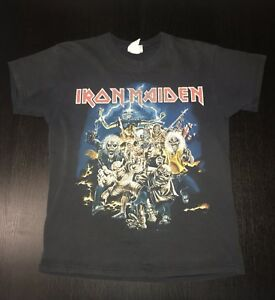 3dbdc210ccb Image is loading Vintage-Iron-Maiden-Best-Of-The-Beast-Concert-
