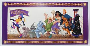 """1996 Walt Disney's Hunchback of Notre Dame 16"""" X 8"""" Lithograph Special Edition"""