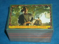 INDIANA JONES 'HERITAGE' Complete 'Retro' Base Set Of 90 Trading Cards Raiders!