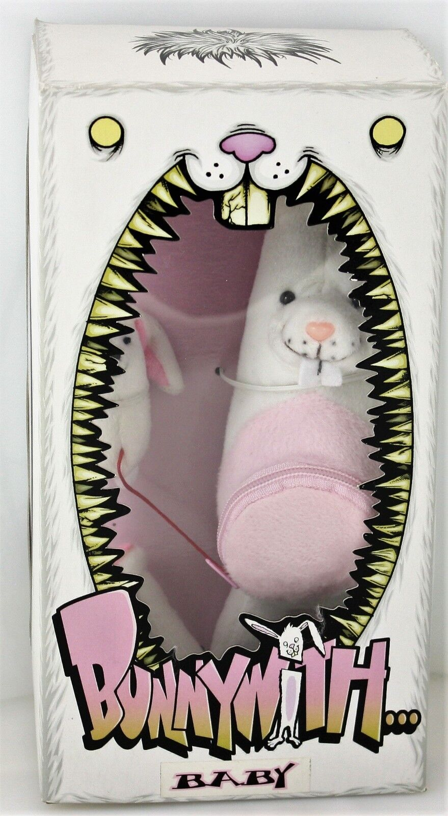 BUNNYWITH BABY - Alex Pardee - RARE PLUSH (2004) - Brand New  Kid Robot
