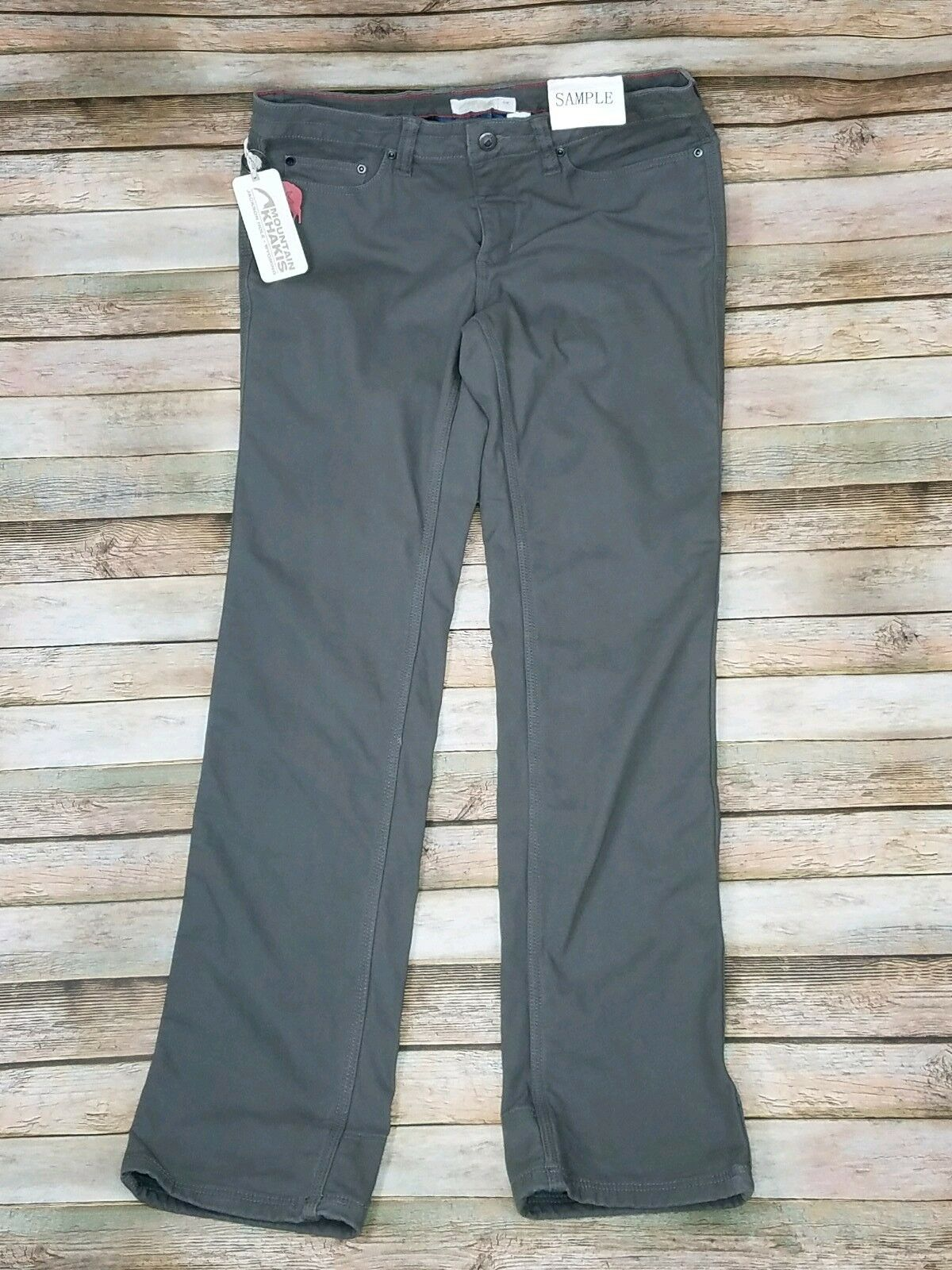 Mountain Khakis  SAMPLE  Classic Fit Mid Rise Fleece Lined Pants 6R Rare
